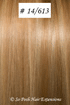 European Hair Extensions - #14/613 Two Tone