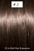 European Hair Extensions - #2 Dark Brown