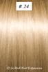European Hair Extensions - #24 Golden Blonde