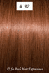 European Hair Extensions - #37 Auburn