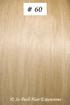 European Hair Extensions - #60 Vintage Blonde