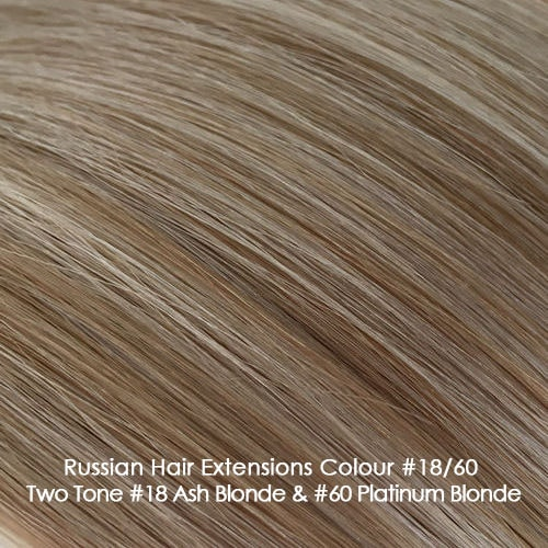 Premium Russian Hair Extensions - #18/60 Two Tone