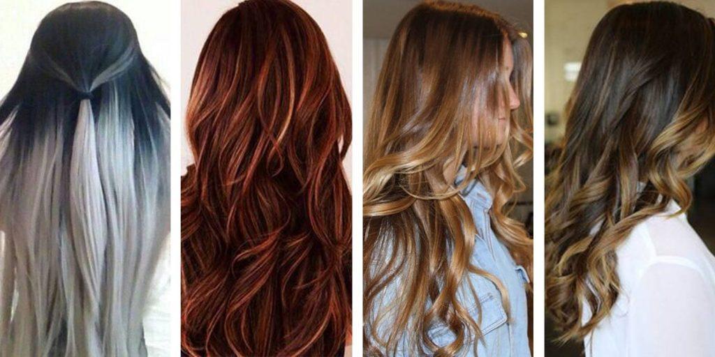 Dark Reddish Brown Blonde Hair Extension Colours